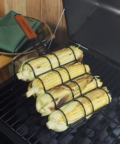 Nonstick Adjustable Corn Grilling Basket by Charcoal Companion on #zulily