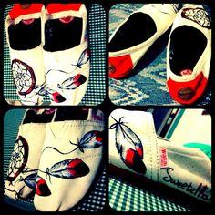 #handmade #art #paint #dreamcatcher #wakai text me if u want, cheap and limited edition ;))