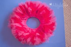 Amazing DIY tutu tutorial (how to make 'em big and fluffy!) by Lilly Bella Photography