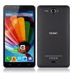 Iocean G7  купить в Киеве и Украине  iOcean G7 Black   Процессор  MTK6592, OctaCore (8 ядер) 1.7 GHz Mali-450 MP4  Операционная система Android 4.2 JB  Память 2 Gb оперативной памяти 16 Gb встроенной памяти Поддержка 32GB MicroSD карт   Камера Фронтальная 5 mpx Тыльная 13 mpx  Сеть Dual sim cards standby (GSM/3G-WCDMA)  GPRS/EDGE/HSPA  2G:GSM 900/1800MHz  3G:WCDMA 850/2100MHz  Емкость аккумулятора 3150 mAh  Экран 6.44 дюймов  IPS Gorilla Glass 2 1920 x 1080 MultiTouch