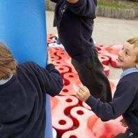 Innovative SNUG play equipment for schools