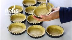 Pastane Usulü Kıtır Tartolet (Asla Yumuşamıyor) (Videolu) - Nefis Yemek Tarifleri Cookie Recipes, Dessert Recipes, Desserts, Homemade Beauty Products, Cake Cookies, Biscotti, Cheesecake, Muffin, Food And Drink