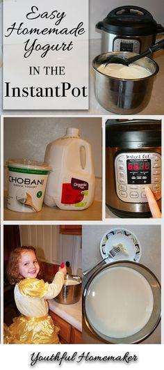 (Almost) Foolproof Yogurt in the Instant Pot