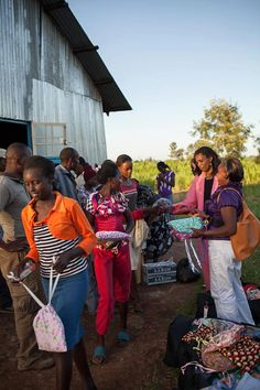 Receiving Days for Girls kits in Kenya. Photo by Nicole Herring. Days For Girls, Empowered Women, Feminine Hygiene, Menstrual Cycle, Giving Back, Worlds Of Fun, Every Girl, Kenya, Women Empowerment