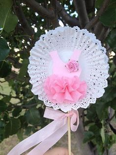 Ballerina Tutu Wand for Ballet Party by JeanKnee on Etsy, $6.00