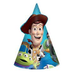 Disneys Toy Story Power Up Cone Party Hats 8ct