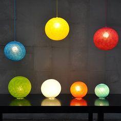 Happy lights lamper til loftet i mange størrelser og farver. Danmarks største udvalg