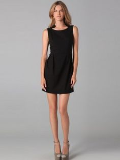 bfb09dcbfb7 Sheath   Column Bateau Sleeveless Short   Mini SatinLittle Black Dress   little  black