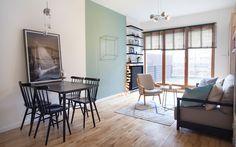 Aranżacja mieszkania na Żoliborzu, City Apartments, 49m2 - BOHO Studio