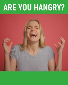 Do you find yourself getting HANGRY everyday? Listen to find out whats really going on.