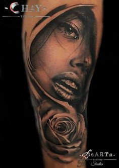 Realistic tattoo done by Chay at BeARTa Tattoo Studio!