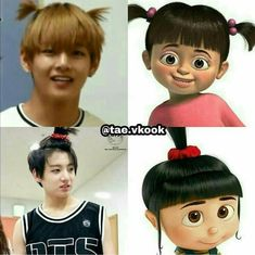 Vkook Jungkook V 😂😂💖 Meme K Pop, Foto Bts, Bts Taehyung, Bts Bangtan Boy, Flipagram Video, Boy Band, Vkook Memes, V Bts Wallpaper, Bts Meme Faces
