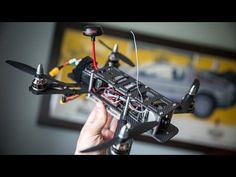 This Video Explains How to Build Your Own Drone - Popular Mechanics #quadcopter