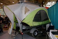 The Sportsmens' Show is a haven for hunters and fishers and all kinds of motorized vehicles; TreeHuggers are shot on sight  but hunters are often environmentalists too, and there are always a few finds, like this amazing Sylvan Sport GO