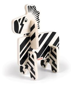 Another great find on #zulily! Zebra Jungle Pals Stacking Puzzle #zulilyfinds