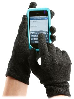 Gloves for touchscreen devices.