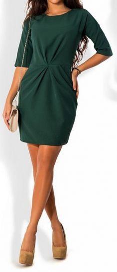 Rochie verde inchis Cold Shoulder Dress, Dresses, Fashion, Green, Vestidos, Moda, Fashion Styles, The Dress, Fasion