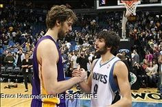 NBA RUMOR: Pau Gasol Could Play With Ricky Rubio In Minnesota