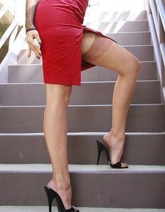 Heels und nylons