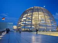 The Reichstag, Germany's parliamentary building, has a rich history. A new dome on top was added in 1999. For a 360-degree view of Berlin, be sure to reserve a ticket to the dome in advance.