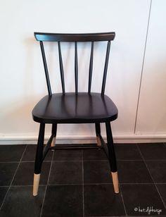 het Dijkhuisje | oude stoel pimpen || refurbishing an old chair | http://www.hetdijkhuisje.nl