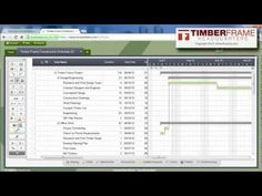 Excel Make a Basic Gantt Chart from Scratch Gantt Chart, Project Management, Schedule, Charts, Construction, Projects, Timeline, Building, Log Projects
