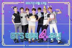 BTS X SMART! BTS 4 YEARS SINCE DEBUT ANNIVERSARY!!! ❤ #BTS #방탄소년단