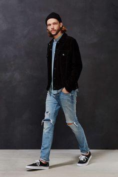 fae76d4a367 Deus Ex Machina Django Suede Jacket Stylish Mens Fashion