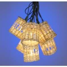 Bamboo Lighting For Over Your Tiki Bar