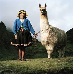 SÉRIE THE HUMAN FACE OF CLIMATE CHANGE © MATHIAS BRASCHLER & MONIKA FISCHER #photography #peru #pérou