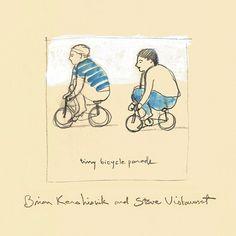 Brian Kershisnik & Steve Vistaunet - Tiny Bicycle Parade. Listen Now!