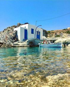 Beautiful spot on Kimolos island, Greece