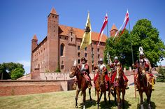 Gniew Castle - a former castle of the Teutonic Order - built after 1290