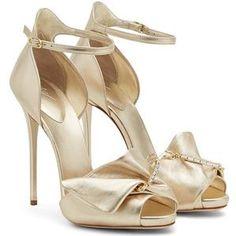ca4238b57458 COUTURE - GOLD Giuseppe Zanotti Heels