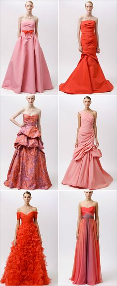 obsessing over the 2012 Monique Lhuillier Resort Collection