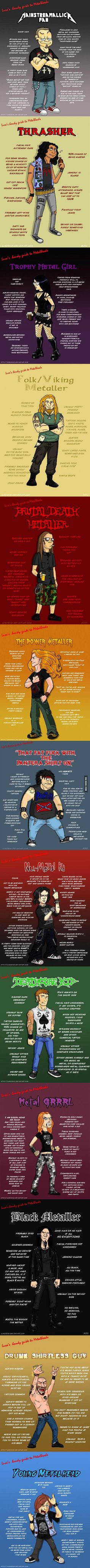 13 types of metalheads you'll meet at the festivals | DailyFailCentral