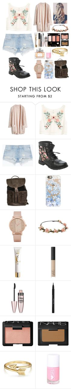 """""""Untitled #71"""" by directioner1608 ❤ liked on Polyvore featuring H&M, Zara, Casetify, ALDO, Yves Saint Laurent, NARS Cosmetics, Maybelline, Stila, Tom Ford and Bling Jewelry"""