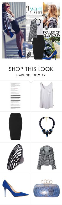 """""""I Like Your Chic"""" by lavendergal ❤ liked on Polyvore featuring Arche, Bohemia, FingerPrint Jewellry, Jimmy Choo and BlackFive"""