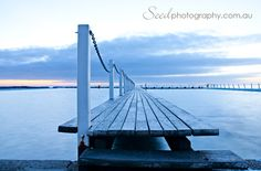 the jetty......