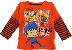 Mike the Knight Toddler Orange T-Shirt Extra soft and easy to care for   Features Nickelodeons Mike the Knight details. 0aa5a5d7f