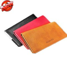 """Universal 5.5"""" Wallet Pouch Leather Handbag And ID Card Bag Cover For Ulefone Metal Case Universal Phone Bag Celular"""
