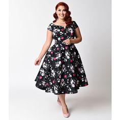 Retro Plus Size Women's Clothing