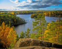 Autumn Colours in Repovesi Park, Finland Lappland, Best Cities, Natural Wonders, Amazing Nature, Science Nature, Natural Beauty, Tourism, National Parks, Nostalgia