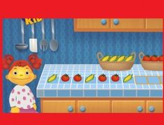 *▶ Reeksen groenten maken, op kleuteridee.nl
