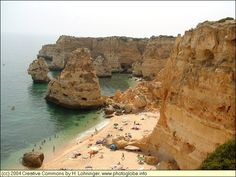 Praia da Marinha - Algarve, Portugal