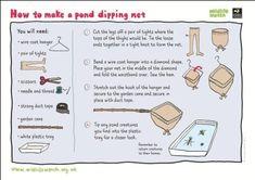 Make a pond dipping net