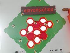 Mapa aniversários Abelhinhas