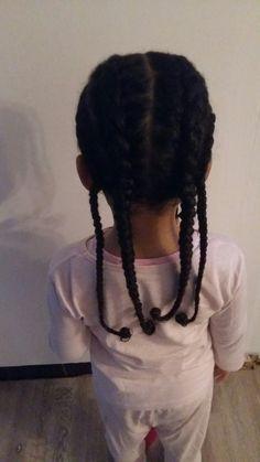 Coiffure protectrice enfants pour protégé ces cheveux.