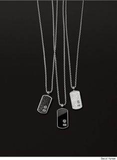 David Yurman; Men's; Dog Tags
