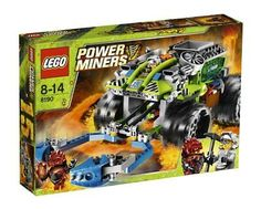 Black Friday 2014 LEGO® Power Miners Claw Catcher 8190 from LEGO Cyber Monday. Black Friday specials on the season most-wanted Christmas gifts. Building For Kids, Building Toys, Lego Power Miners, Construction Toys For Boys, Lego Structures, Best Lego Sets, Black Friday Toy Deals, Lego Army, All Lego
